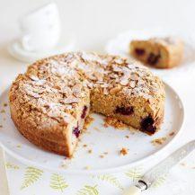 Vegan Blackberry And Almond Cake Recipe