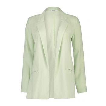 Light green casual blazer