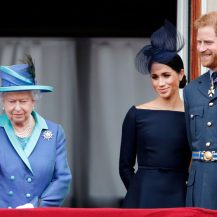 The Queen Responds to Harry and Meghan 'Stepping Back'