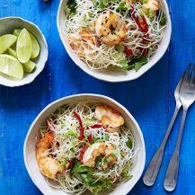 Thai Prawn Salad With Herbs Recipe