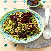 Roasted Beetroot And Quinoa Salad Recipe