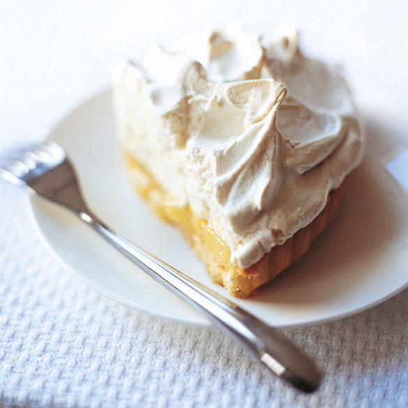 Lemon and lime meringue pie recipe