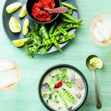 Thai Ginger-Chicken Soup Recipe