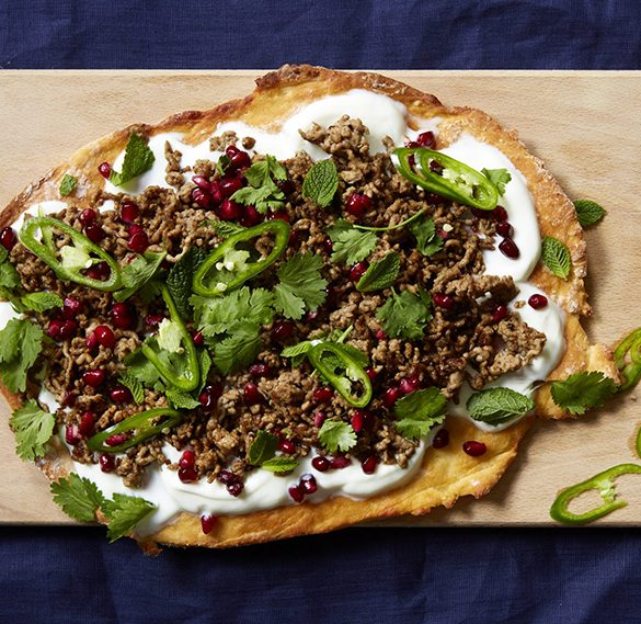 Middle Eastern lamb flatbreads recipe