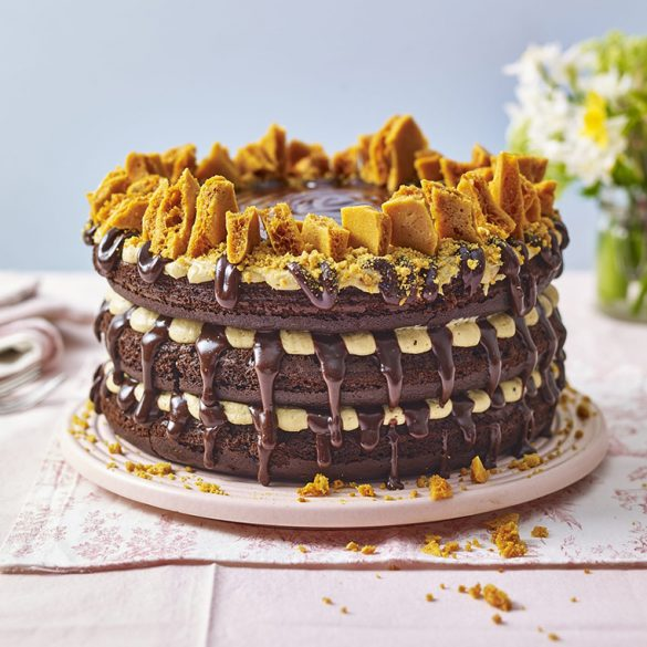 Spiced chocolate cake recipe